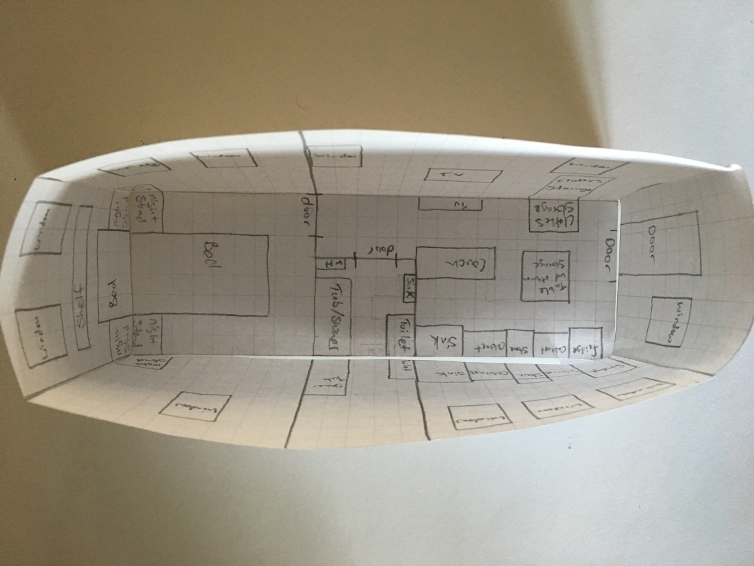 Tiny house diagram